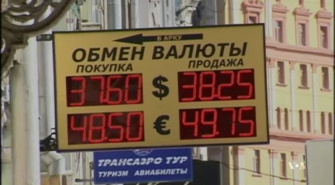 Russian Economy Reeling after New Western Sanctions