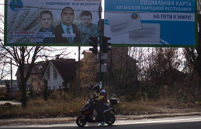 Last day of pre-election campaign over in Luhansk People's Republic