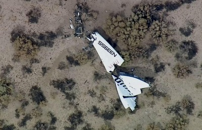 SpaceShipTwo explodes seconds after separation from mothership – media