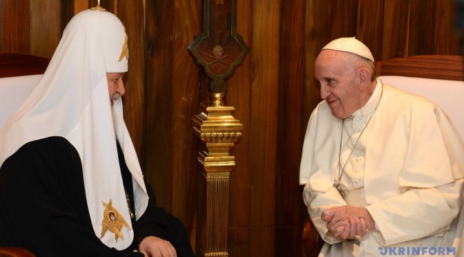 Експерти побачили в декларації Франциска і Кирила позитив для України