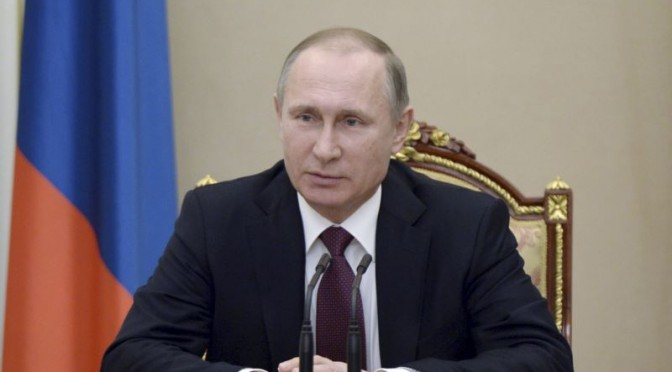 Public Support for Putin to Serve Another Term at Highest level in 4 years