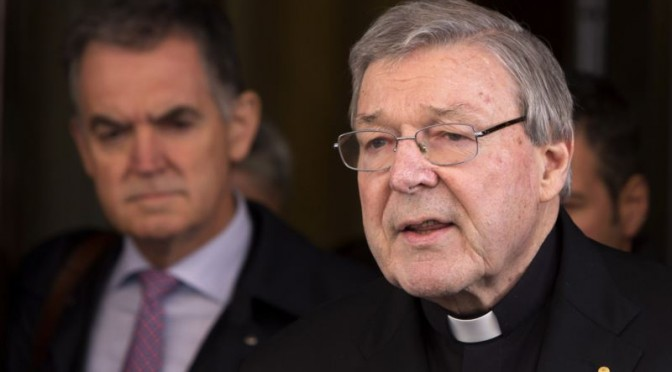 Australian Cardinal Admits Negligence, Vows to Help Abuse Victims
