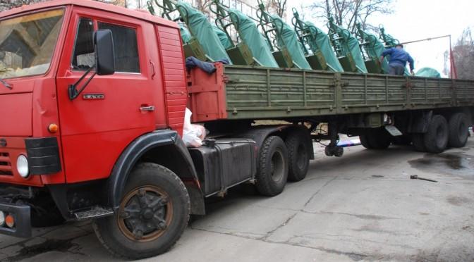 Українські військові отримали першу партію нових мінометів «Молот»