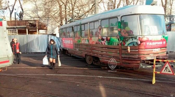Прокуратура обшукала одеських трамвайників